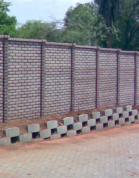 boundary wall design stylish interlocking pavers products gt precast designer