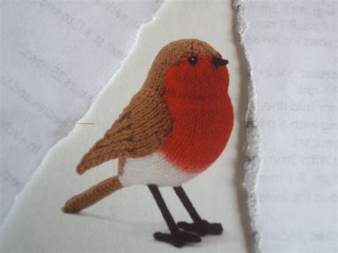 knitting pattern christmas robin christmas robin to knit knitting pattern 163 1 20 picclick uk