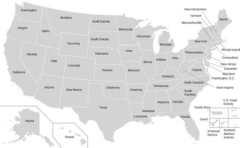 labeled us map united states map labeled