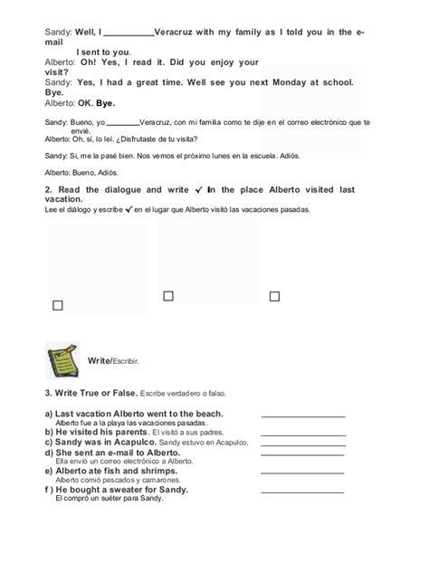 libro de tercer grado de secundaria de ingls de la escuela visente lombardo toledano de la unidad 3 de este ao libro de tercer grado de secundaria de ingls de la escuela