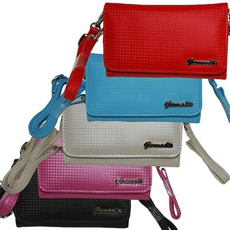 Pouch Sarung Hp Blackberry Appolo purse handbag for the blackberry apollo with both a and shoulder loop color options