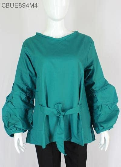 Atasan Wanita Blouse Polos Baju Celana Kulot Motif Isyana Set Xl atasan blus katun ima lengan popeye polos blus lengan