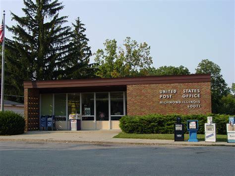 Richmond Post Office elgin illinois post office post office freak