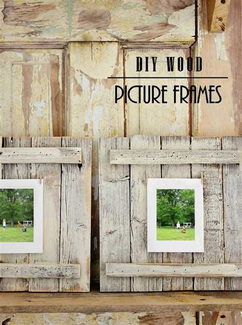 easy diy wood picture frame project thistlewood farm