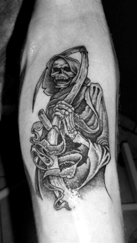 grim reaper tattoo meaning great ideas of grim reaper designs grim reaper
