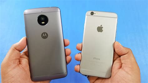 moto e4 plus vs iphone 6 speed test comparison which is faster