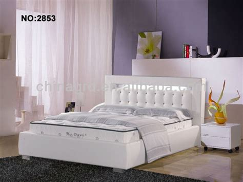 made in china bed bed with lighted headboard b2853 buy