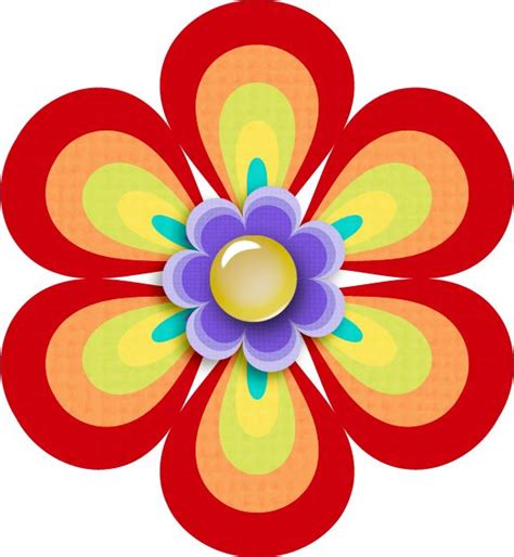 Kertas Cliparts Lamore Design 8pcs 222 best images about flower clipart on