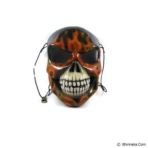 Karet Elastis 13cm Bagus Murah jual rotamart masker motor 3 dimensi tengkorak