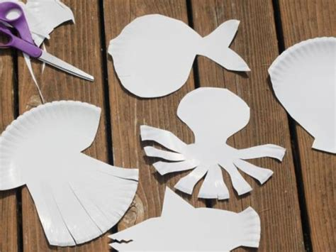 How To Make Paper Plate Animals - various diy paper plate sea animals kidsomania