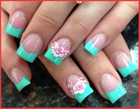 nail acrilico fiori acrylic flower nail free flower nail designs