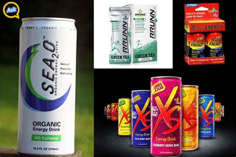 the energy drink with most caffeine which is the best caffeine free energy drink in the market