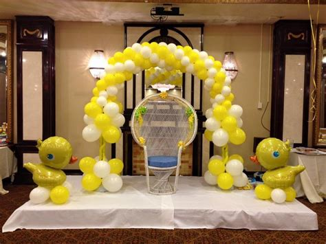 Balloons Decoration For Baby Shower by 99 Best Images About Balloon Baby Shower Decor On