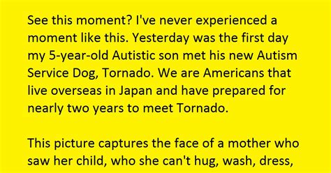 how i gave my son autism the thinking moms revolution mother was overwhelmed when autistic son met his therapy dog