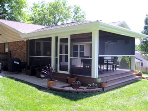 screen rooms traditional porch st louis by