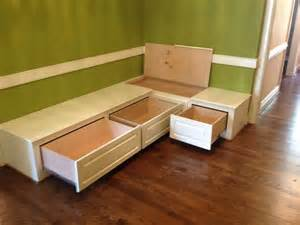 Wood Toy Box Bench Plans by Dining Room Bench Seating With Hidden Storage Built Ins Pinterest Dining Room Bench