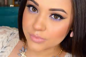 pop of color makeup pastel purple summer makeup tutorial pop of color
