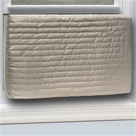 window air conditioner covers exterior king e o 20 in x 28 in inside quilted fabric
