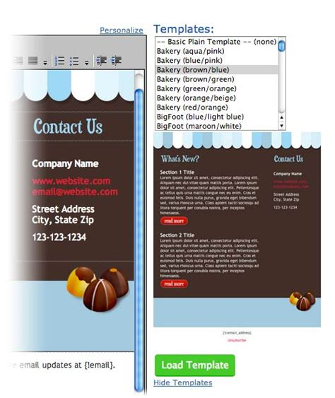 Send Blog Broadcast Emails With Aweber To Create A Newsletter Aweber Newsletter Templates