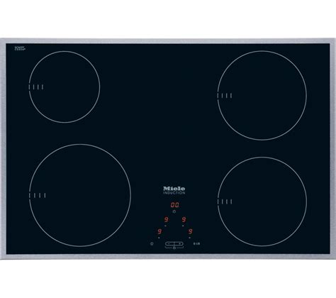 induction hob accessories buy miele km6118 induction hob black free delivery currys