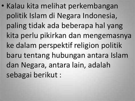 Buku Perkembangan Politik Dan Sistem Birokrasi Di Beberapa Negara Pr kedudukan sistem politik dalam islam