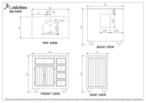 Bathroom Vanity Standard Depth by Standard Bathroom Vanity Depth Callforthedream