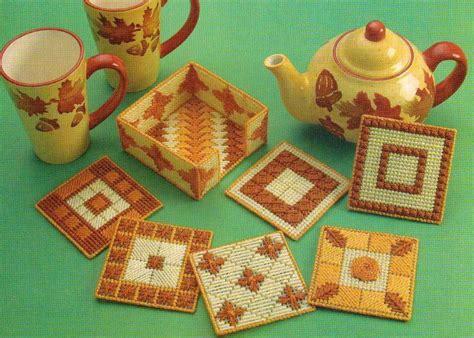 new plastic canvas free patterns coaster ensemble plastic canvas pattern instructions ebay
