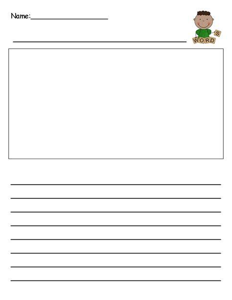 templates for kindergarten writing template writing paper kindergarten best photos of