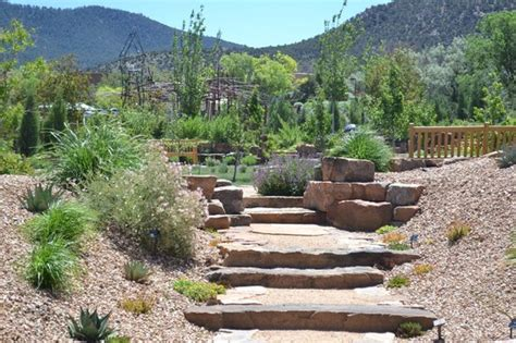 looking east picture of santa fe botanical garden santa