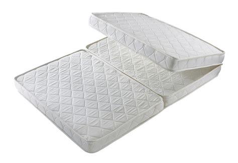 faltbare matratze faltbare matratze stockbild bild getrennt