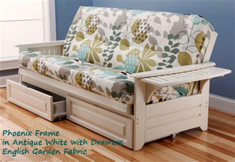 white frame futon bm furnititure