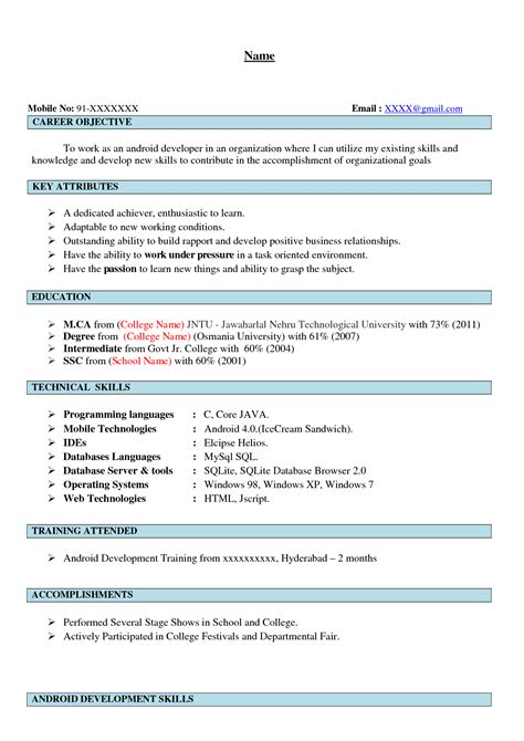 Sample Resumes For Freshers crm resume okl mindsprout co