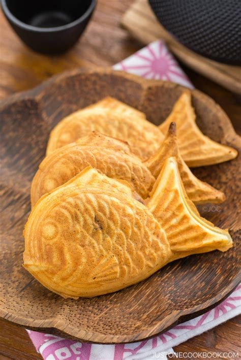 taiyaki 鯛焼き just one cookbook