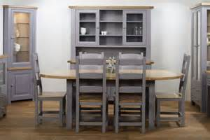 Grey Painted Dining Room Furniture Charltons Bretagne Dining Furniture Lacquered Painted Oak
