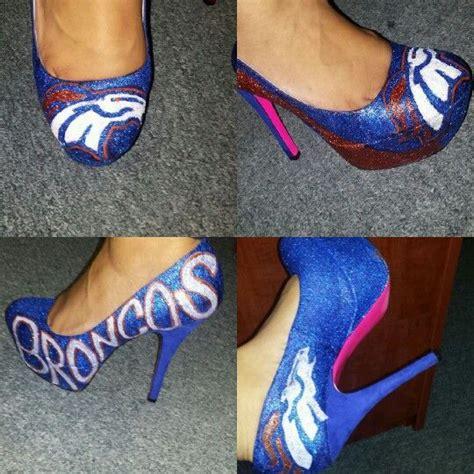 broncos high heels custom denver broncos heels custom made shoes tutus