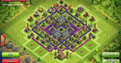 membuat game coc membuat farming base coc th8 untuk keamanan gold dan