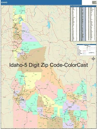 zip code map boise idaho zip code map from onlyglobes com
