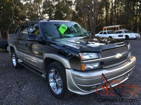 southern comfort avalanche for sale 2005 chevrolet avalanche ultimate lx southern comfort