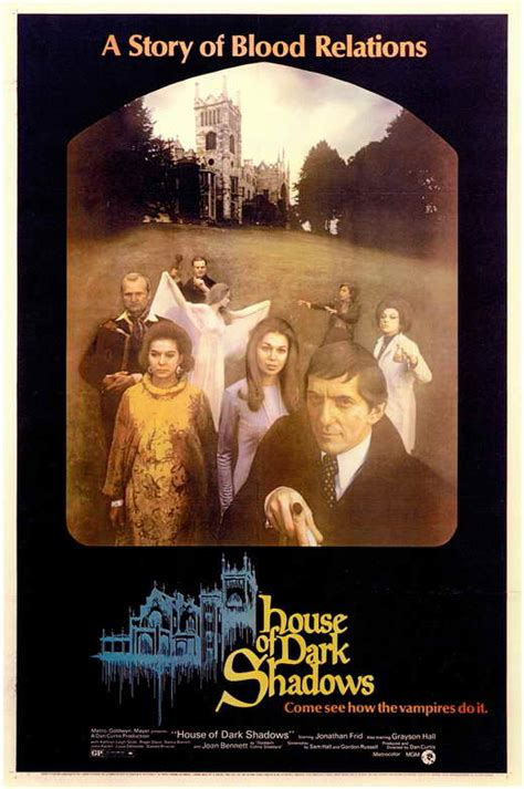 house of shadows house of dark shadows movie posters from movie poster shop