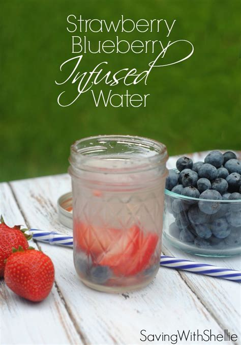 Strawberry Blueberry Detox Water by Blueberry Strawberry Infused Water