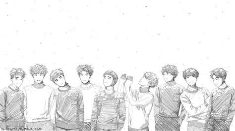 exo wallpaper fanart les 33 meilleures images 224 propos de exo sur pinterest