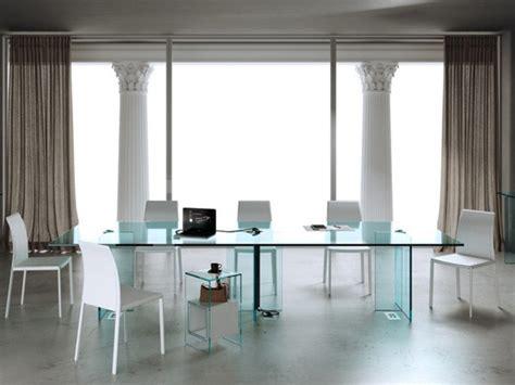scrivanie casa design arredo in vetro mobili arredamento moderno