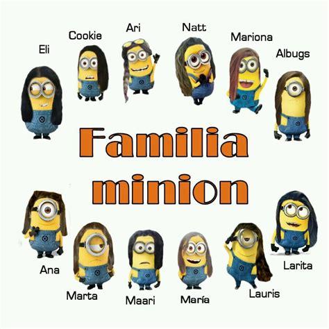 imagenes de minions en familia familia minions familiaminions twitter