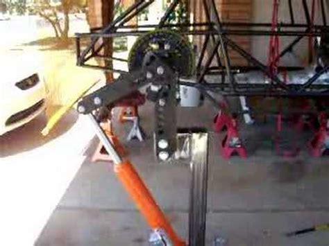 air  hydraulic home brew conversion youtube