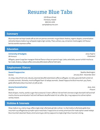 Job Resume Format Simple by Free Resume Builder 183 Resume Com