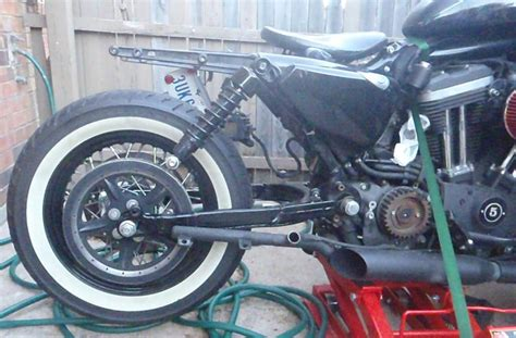 sportster swing arm 07 nightster with new swingarm harley davidson forums
