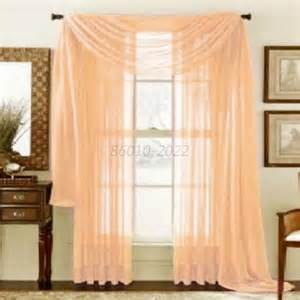 Sheer Bedroom Curtains Solid Sheer Curtain Window Curtains Bedroom Voile Drape Panel Sheer Curtains Ebay
