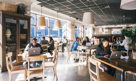 Office Space Restaurant Spacious Turns Empty Restaurants Into Coworking Spaces