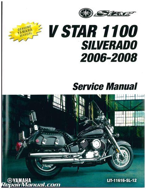 how to download repair manuals 2006 chevrolet silverado auto manual 2006 2009 yamaha xvs1100 v star silverado motorcycle service manual lit 116 ebay