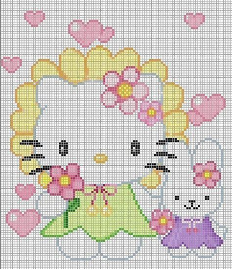 hello kitty cross stitch 17 best images about hello kitty cross stitch on pinterest